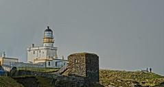 The Broch Lighthouse. (artanglerPD) Tags: winter people lighthouse sunshine walking seat broch fraserburgh