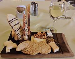 Quebec cheese platter, Pinot Grigio (Will S.) Tags: ontario canada art gallery artgallery canadian trunks emilycarr mypics kleinburg aboriginalart canadiana groupofseven tomthomson mcmichael mcmichaelcanadianartcollection mcmichaelgallery