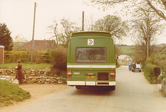 Southern Vectis 880 ; MDL880R . 17/4/80 (busmothy) Tags: nbc 880 southernvectis leylandnational mdl880r
