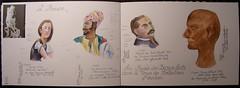 A Rouen (Nathalie Lefebvre 76) Tags: aquarelle dessin rouen croquis carnet