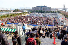 Comiket C89 Day 3 - West Cosplay Area (tech.akaru) Tags: japan crowd comiket c89