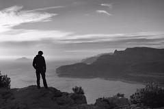 Les calanques - Cassis. (Flakadiablo) Tags: voyage trip sea blackandwhite mer canon landscape blackwhite marseille noiretblanc paysage cassis calanques mditerrane 40d