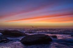 Ship to shore (Mick Fletoridis) Tags: longexposure seascape sunrise rocks surf colours sydney australia leefilters sonya7 sonyimages