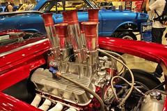 3rd Annual Street Machine & Muscle Car Nationals (USautos98) Tags: chevrolet chevy 1957 hotrod custom corvette streetrod gasser