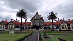 Rotorua Museum seen from Government Gardens (JayVeeAre (JvR)) Tags: picasa3 johnvanrooygmailcom johnvanrooy gimp28 canonpowershotsx60hs johannesvanrooy httpwwwflickrcomphotosjayveeare httpwwwpanoramiocomuser1363680 httppicasawebgooglecomjohnvanrooy ©2016johannesvanrooy