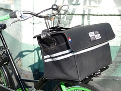 WorkCycles Fr8 Straight TimTas Porteur4 (@WorkCycles) Tags: dutch amsterdam bike bicycle bag rack tas fietsen fiets fr8 porteur drager transportfiets workcycles timtas voordrager