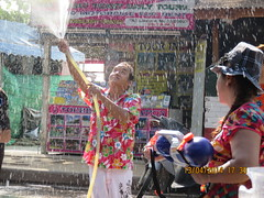 Happy Songkran Water Festival Happy New Year Thailand 13 April 2014 at Nai Yang Beach Friends & Tourists were enjoyed the festival with Peace & M. Rana & Padam Grg. (James Bespoke Suit Phuket Thailand) Tags: new friends beach water festival thailand happy peace with year tourists m yang april were 13 rana nai enjoyed songkran 2014 grg padam