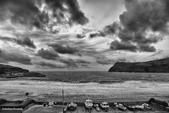 January Gales (mono) (manxmaid2000) Tags: gales clouds sea storm coast waves monochrome blackandwhite cloud sky coastal isleofman iom drama weather uk beach harbour mono porterin manx winter cloudy windy boats shore leaden outdoors seascape cloudscape rough wild outdoor
