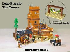 Lego Pueblo A5 (giorgio.chronas) Tags: arizona verde america mexico lego native pueblo western taos ideas acoma mesa zuni