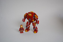 Hulkbuster (Kit Bricksto) Tags: man model iron lego age buster minifig hulk moc ultron hulkbuster