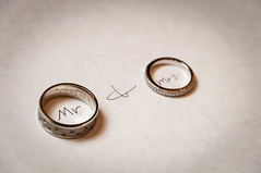 Wedding - The Rings Mr And Mrs (R P M Photography) Tags: winter wedding groom bride photo married m rings r p weddings rpm