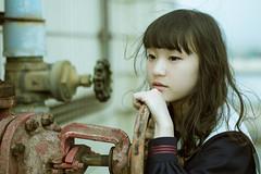 IMG_8754 (WANGYANZHI) Tags: street light people art photography sigma schoolgirl lr   ximen         canon6d