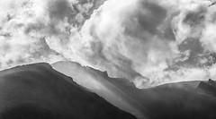 On the slopes of the Stromboli volcano (pontesrocs) Tags: clouds lights volcano islands smokes stromboli eoliens