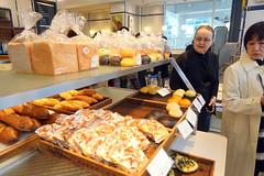 Leena at our favorite bakery (pennykaplan) Tags: food japan tokyo leena shibuyu