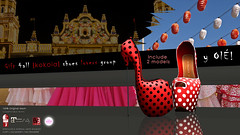 {kokoia} y Ol! :: Shoes :: Gift ({kokoia}) Tags: eve red woman de high sevilla shoes y mesh platform feria ole sl heel tmp sevillana deria maitreya slink secondlfie kokoia themeshproject