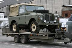 "1969 Land Rover 88"" (davocano) Tags: brooklands carauction historicsatbrooklands sdp665h"