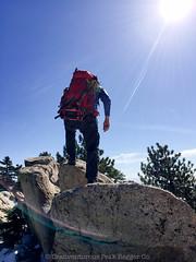 Summiting (daniel.hughley) Tags: snow bunny hiking angelesnationalforest cran angelescresthighway watermanmountain watermanmountaintrail
