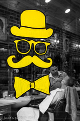 Gentleman's grooming (judethedude73) Tags: window hat shop spitalfields gentleman hairdressers stylish barbers tash