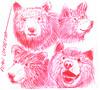 osos a lapicero (ivanutrera) Tags: bear wild animal pen oso sketch drawing wildlife draw dibujo lapicero osos boligrafo dibujoalapicero dibujoenboligrafo