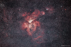 Eta Carinae (basketballfreak6) Tags: canon stars space australia brisbane astro filter nebula astrophotography queensland l eta cls 70200mm deepsky carinae 60d astronomik