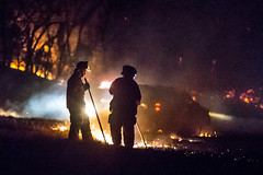 DD HWY-Field Fire-19 (Mather-Photo) Tags: winter night fire lowlight wind smoke flames burning burn damage emergency firefighters charred 2014 firstresponders fieldfire emergencypersonnel andrewmather matherphoto andrewmatherphotography