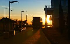 Sunset Harvest (designerus) Tags: travel sunset architecture truck lumix seaside russia harvest lanterns seaport sochi scythe reaping lx100