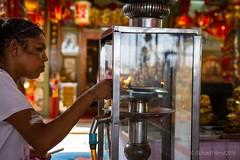 Mahachai, Samut Sakhon (Rich Friend) Tags: life street people thailand shrine asia faith prayer belief buddhism merit mahachai