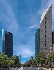 Reforma 331 (L Urquiza) Tags: city mexico arquitectura cityscape torre mayor ciudad paseo reforma scape bancomer cdmx mtikah