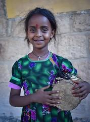 Ashenda Girl (Rod Waddington) Tags: africa portrait girl festival female drum african afrika ethiopia ethnic afrique ethiopian etiopia ethiopie etiopian tigray adigrat ashenda