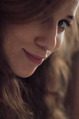 + (Raquel Malln) Tags: portrait selfportrait green girl beautiful smile face self hair myself happy 50mm spain eyes nikon funny warm gente expression young raquel portfolio lovely tones selfie malln