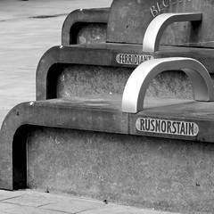 rusnorstain (Harry Halibut) Tags: bw blancoynegro branco stone bench blackwhite noiretblanc seat south sheffield yorkshire images preto moor zwart wit weiss bianco blanc nero allrightsreserved noire schwatz sheffieldbuildings contrastbysoftwarelaziness colourbysoftwarelaziness imagesofsheffield sheffieldarchitecture 2016andrewpettigrew feridiant rusnorstain sheff1603288565