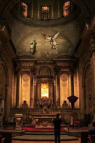 Altar Mayor, Templo del Exconvento Dominico de Sta. María de Gracia, Guadalajara, Jal.
