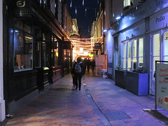Brighton by night March 2016 (Bristol Viewfinder) Tags: brighton mexican violin buskers nightlife busking thelanes restuarants