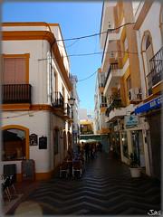 Ayamonte (Huelva) (Spain) (sky_hlv) Tags: espaa praia beach andaluca spain europa europe village pueblo huelva playa verano atlanticocean frontera frontier ayamonte costadelaluz oceanoatlntico