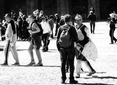 Plaza Mayor_2 (Sal de plata 51) Tags: madrid people spain plazamayor blackwithe