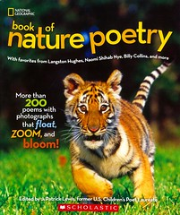 National Geographic Book of Nature Poetry:  More than 200 Poems with Photographs that Float, Zoom, and Bloom! (Vernon Barford School Library) Tags: new school nature reading book j high poetry poem zoom library libraries tiger reads patrick lewis books read paperback photographs national cover photograph tigers junior bloom covers bookcover poems middle float vernon recent geographic bookcovers nonfiction paperbacks nationalgeographic barford softcover naturepoetry jpatricklewis vernonbarford softcovers patricklewis 9780545914734 9781426320941