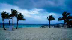 PlayaMujeres_0176 (allen ramlow) Tags: ocean trees seascape beach clouds twilight sand sony palm resort a6000