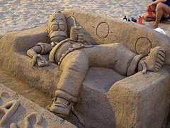 Barcelona (Ana >>> f o t o g r a f  a s) Tags: barcelona espaa beach strand spain espanha playa catalonia arena catalua spanien spagna spanje spania spagne spanya canong12