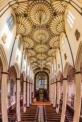 St Johns Ceiling (Paul S Ewing) Tags: church st scotland edinburgh religion ceiling ornate johns vertorama