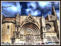 Castelln. MORELLA 11 iglesia gotica (ferlomu) Tags: iglesia nubes castellon gotico morella ferlomu