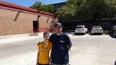 Me and Rafe at the petroleum building (DieselDucy) Tags: sanantonio texas rafe