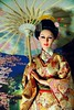 Geisha 芸者 (Kim ️) Tags: cherry japanese tokyo miniature blossoms geiko geisha kimono comb memoirs kasa 芸者 kanzashi kushi sybarite 芸妓 芸子 geigi fiday birabira kimlondon