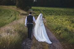 H & K (Iona Taberham) Tags: wedding portrait love field grass groom bride couple veil path marriage weddings weddingdress weddingday brideandgroom weddingphotography weddingcouple