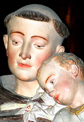 Kindness and compassion (patrick_milan) Tags: church statue catholic religion christian glise patrimoine catholique plouguin chtien