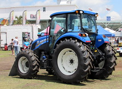 New Holland T.490. (dccradio) Tags: tractor sc festival fun myrtlebeach southcarolina fair entertainment ag agriculture tractors countyfair agricultural farmequipment farmmachinery communityevent newholland myrtlebeachspeedway horrycounty horrycountyfair altmantractorofconway