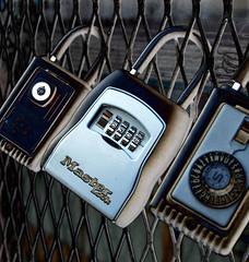 Lock boxes (photographyguy) Tags: colorado security denver masterlock expandedmetal lockboxes keyboxes