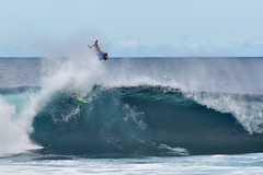 Catching Some Air (AGrinberg) Tags: sport hawaii air surfing northshore wipeout pipeline 54063airwipeout
