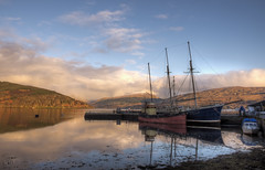Vital Spark 2016 Colour (perkster24) Tags: travel scotland hdr inveraray lochfyne travelphotography vitalspark hdrphotography