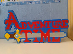 LEGO  Adventure Time (ProfMadness) Tags: dog brick art simon logo with jake princess time wizard magic cartoon kingdom pb adventure human pixel pixelart sword series animated bubblegum finn marci ooo kego marceline iceking marcelin adventuretime