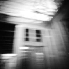 Construction (rustman) Tags: blackandwhite bw square iso3200 grain 11 pinhole slit worldwidepinholephotographyday 22mm gf1 f128 dynamicblackandwhite panasoniclumixgf1 pinwide wanderlustpinwideslit